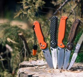 Array of folding Knives