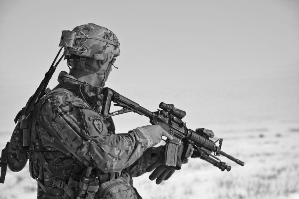 Soldier in Tac Gear